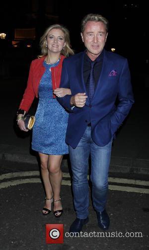 Michael Flatley , Niamh O'Brien - Cliff Rchard birthday gig at the Royal Albert Hall at Royal Albert Hall -...