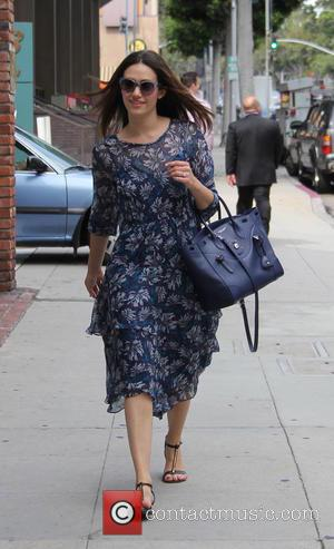 Emmy Rossum - Emmy Rossum out and about in Beverly Hills at beverly hills - Beverly Hills, California, United States...