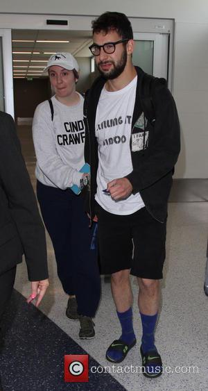 Lena Dunham and Jack Antonoff