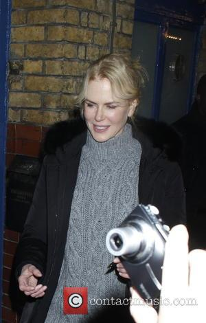 Nicole Kidman - Nicole Kidman and Keith Urban seen at The Noel Coward Theatre after starring in the play, 'Photograph...