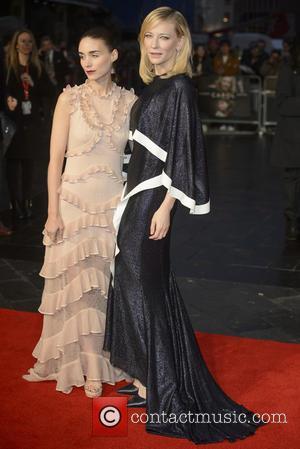Rooney Mara , Cate Blanchett - BFI London Film Festival - Carol Premiere - Arrivals - London, United Kingdom -...