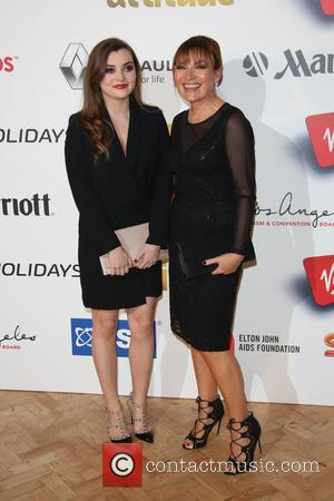 Lorraine Kelly , daughter - The Attitude Awards 2015 held Banqueting House - Arrivals - London, United Kingdom - Wednesday...