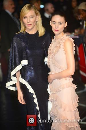 Rooney Mara , Cate Blanchett - BFI London Film Festival - 'Carol' - American Express Gala  - Red Carpet...