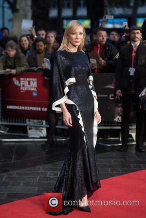 Cate Blanchett - BFI LFF: 'Carol' gala screening held a the Odeon West End - Arrivals. at Odeon West End...