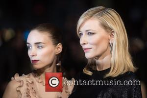 Rooney Mara , Cate Blanchett - BFI LFF: 'Carol' gala screening held a the Odeon West End - Arrivals. at...