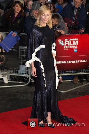 Cate Blanchett - The BFI London Film Festival's AMEX Gala of 'Carol' held at the Odeon Leicester Square - Arrivals...