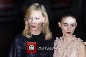 Rooney Mara , Cate Blanchett - The BFI London Film Festival's AMEX Gala of 'Carol' held at the Odeon Leicester...