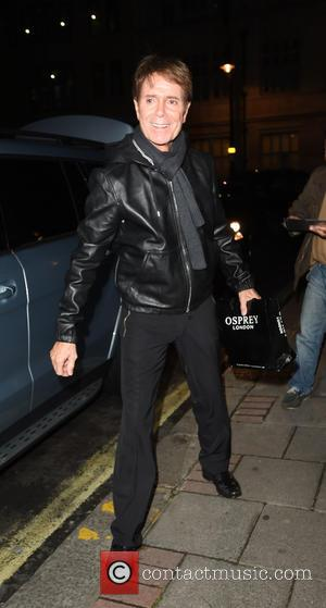 Sir Cliff Richard - Pop singer Cliff Richard seen leaving the Royal Albert Hall and arriving at his London hotel....