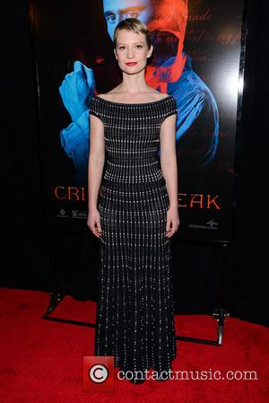 Mia Wasikowska - Legendary & Universal Pictures premiere of 'Crimson Peak' at the AMC Loews Lincoln Square - Red Carpet...