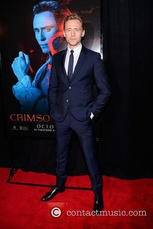 Tom Hiddleston - Legendary & Universal Pictures premiere of 'Crimson Peak' at the AMC Loews Lincoln Square - Red Carpet...