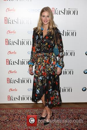 Donna Air - Arrivals at Hello Fashion Monthly First Birthday at Charlie - London, United Kingdom - Wednesday 14th October...