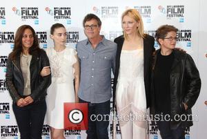 Cate Blanchett, Rooney Mara, Todd Haynes, Phyllis Nagy and Elizabeth Karlsen