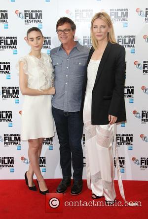Cate Blanchett, Rooney Mara and Todd Haynes