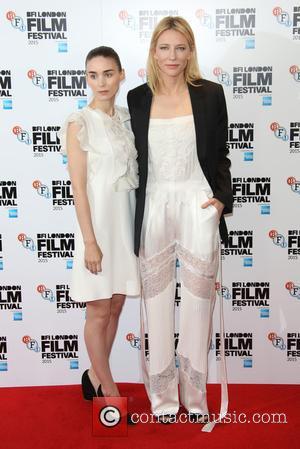 Cate Blanchett , Rooney Mara - BFI London Film Festival - Carol Photocall held at the Soho Hotel - Arrivals...