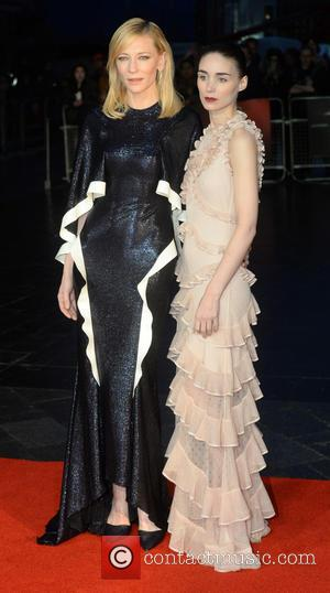 Cate Blanchett , Rooney Mara - BFI London Film Festival - 'Carol' - Gala screening - London, United Kingdom -...