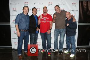 Steve Yu, Stone Cold Steve Austin, Jake Roberts, Jake The Snake and Christopher Bell