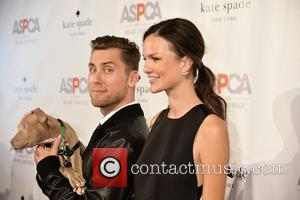 Lance Bass , Allie Rizzo - The ASPCA's annual Young Friends Benefit - Arrivals at IAC Building - New York...
