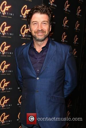 Nick Knowles - Guests arrive at the VIP launch of Ginger Martini, a new cocktail and sushi bar at Gilgamesh,...