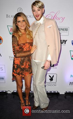 Gemma Oaten , Lewis-Duncan Weedon - Tresor Paris charity fashion show in aid of Sky Badger at the The Montcalm...