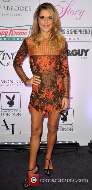 Gemma Oaten - Tresor Paris charity fashion show in aid of Sky Badger at the The Montcalm Hotel London at...