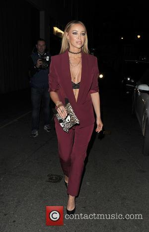 Lauren Pope - Celebrities arrive at Libertine Club - London, United Kingdom - Thursday 15th October 2015
