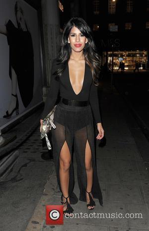 Jasmin Walia - Celebrities arrive at Libertine Club - London, United Kingdom - Thursday 15th October 2015