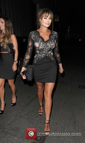 Jessica Wright - Celebrities arrive at Libertine Club - London, United Kingdom - Thursday 15th October 2015