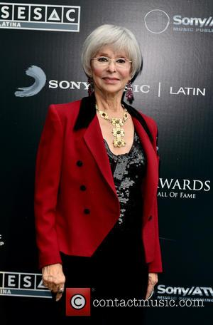 Rita Moreno - Latin Songwriters Hall of Fame La Musa Awards at The Fillmore Miami Beach at Jackie Gleason Theatre...