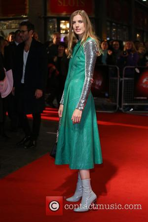 Agyness Deyn - BFI London Film Festival - 'Sunset Song' - Premiere - London, United Kingdom - Thursday 15th October...
