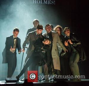 Renee Olstead, James Maslow, David Arquette , Patrick Costello - Celebrities attend the opening night of Sir Arthur Conan Doyle's...