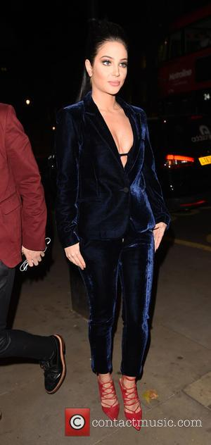 Tulisa Contostavlos - Attitude Magazine Awards at the Banqueting House - Departures - London, United Kingdom - Thursday 15th October...