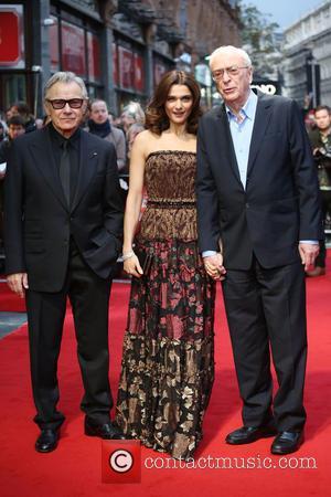 Rachel Weisz, Michael Caine and Harvey Keitel