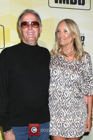 Peter Fonda , Parky Fonda - IMDb's 25th Anniversary Party Co-Hosted by Amazon Studios Presented by Visine at Sunset Tower...