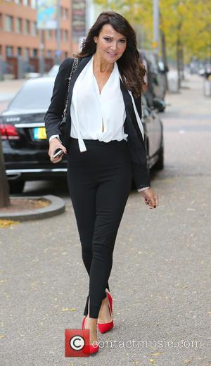 Lizzie Cundy - Lizzie Cundy outside ITV Studios - London, United Kingdom - Thursday 15th October 2015