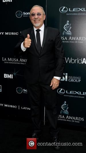 Emilio Estefan - Latin Songwriters Hall of Fame La Musa Awards at The Fillmore Miami Beach at Jackie Gleason Theatre...
