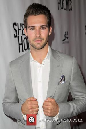 James Maslow - Celebrities attend opening night of Sir Arthur Conan Doyle's Sherlock Holmes at The Montalban Theatre. at The...