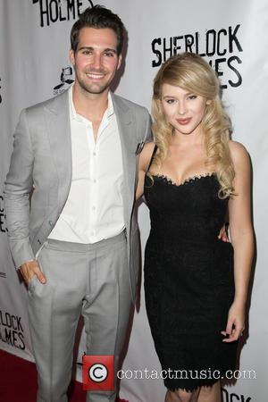 James Maslow , Renee Olstead - Celebrities attend opening night of Sir Arthur Conan Doyle's Sherlock Holmes at The Montalban...