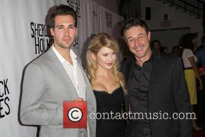 James Maslow, Renee Olstead , David Arquette - Celebrities attend opening night of Sir Arthur Conan Doyle's Sherlock Holmes at...