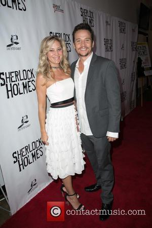 Travis Aaron Wade , Guest - Celebrities attend opening night of Sir Arthur Conan Doyle's Sherlock Holmes at The Montalban...