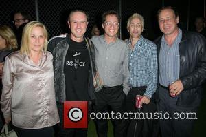 Patricia Arquette, David Arquette, Corey Ross, Alexis Arquette and Richmond Arquette