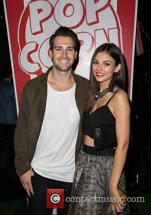James Maslow , Victoria Justice - Celebrities attend after party on opening night of Sir Arthur Conan Doyle's Sherlock Holmes...