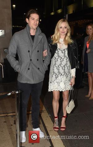 Fearne Cotton , Jesse Wood - Guests arrive at Ant and Dec's 40th Birthday Party held at Kensington Roof Gardens...