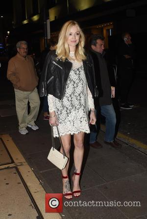 Fearne Cotton - Guests arrive at Ant and Dec's 40th Birthday Party held at Kensington Roof Gardens in London -...