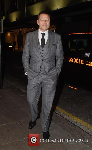 David Walliams - Guests arrive at Ant and Dec's 40th Birthday Party held at Kensington Roof Gardens in London -...