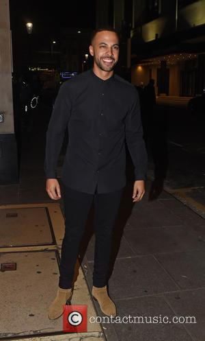 Marvin Humes - Guests arrive at Ant and Dec's 40th Birthday Party held at Kensington Roof Gardens in London -...