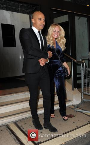 Emma Bunton , Jade Jones - Ant & Dec's 40th birthday party held at Kensington Roof Gardens - Departures -...