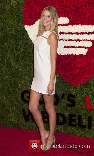 Toni Garrn - Ninth annual God's Love We Deliver Golden Heart Awards gala at Spring Studios - Arrivals at Spring...