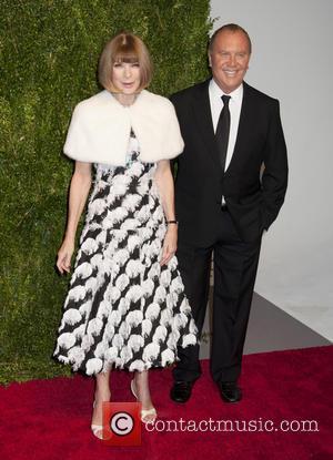 Anna Wintour , Michael Kors - Ninth annual God's Love We Deliver Golden Heart Awards gala at Spring Studios -...