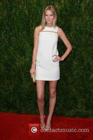 Toni Garrn - Ninth annual God's Love We Deliver Golden Heart Awards gala at Spring Studios - Arrivals - Manhattan,...