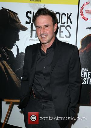 David Arquette - Celebrities attend the opening night of Sir Arthur Conan Doyle's 'Sherlock Holmes' at the Ricardo Montalban Theatre...